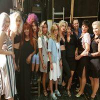חברת רבקה זהבי hair fashion חלקה את הבמה עם גיא טאנג