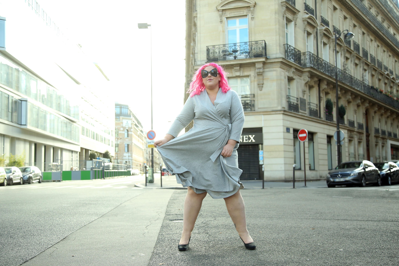 שבוע האופנה למידות גדולות צילום נעמי ים סוף. 21-24.11 יד חרוצים 11 תל אביב שמלה של טולה 300 שח במקום 429 שח