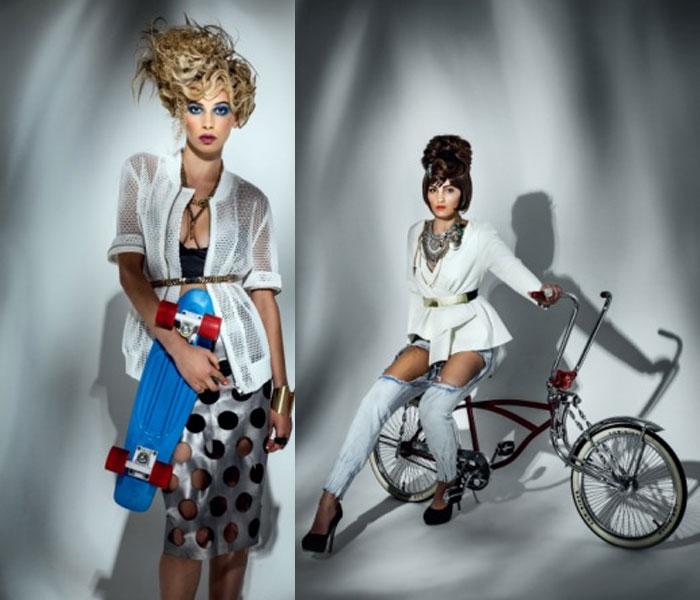 מעצבת השיער האוסטרלית לורנה אוונס ממלבורן
