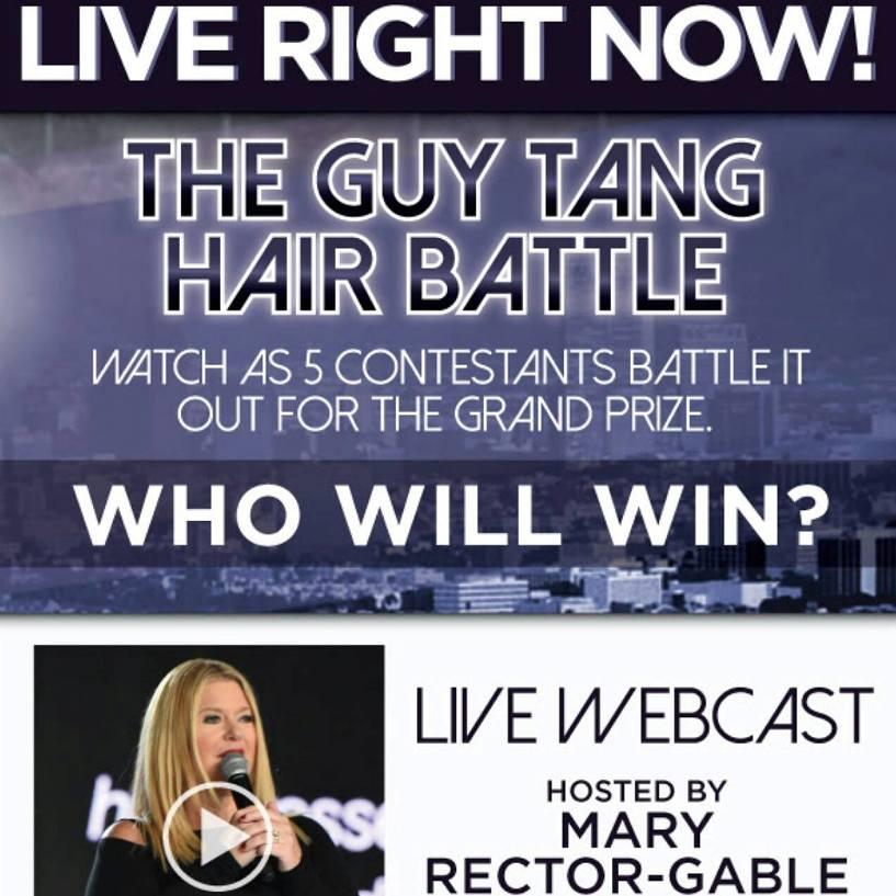תחרות צבעי שיער בשידור ישיר