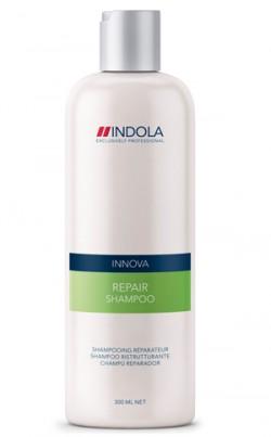 אינדולה מציעה שמפו ומסכה לטיפול בשיער יבש ופגום Innova Repair