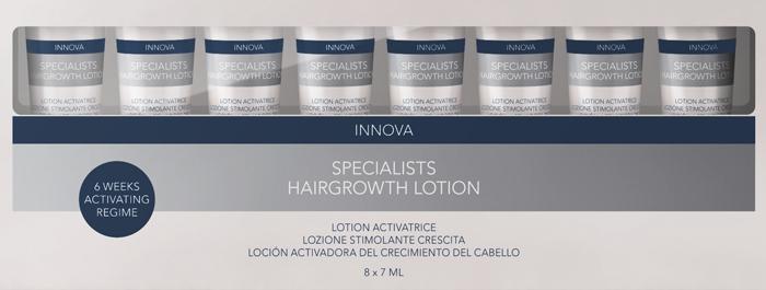 אינדולה משיק סדרה חדשה לטיפול בנשירת שיער לנשים ולגברים: Innova Specialists
