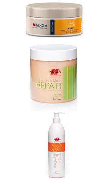 אינדולה מציגה מוצרים לעיצוב ושיקום השיער