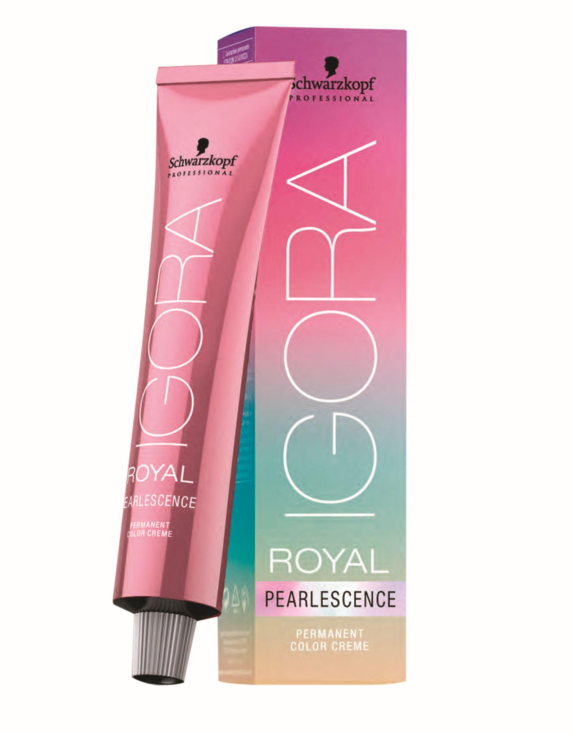 שוורצקופף פרופשיונל משיקה את סדרת צבעי הפנינה- IGORA Royal Pearlescence 1