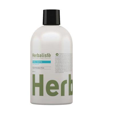 שמפו נגד קשקשים המבוסס על צמחי מרפא טבעיים של חברת Herbalist'e מבית Moraz, יחצ