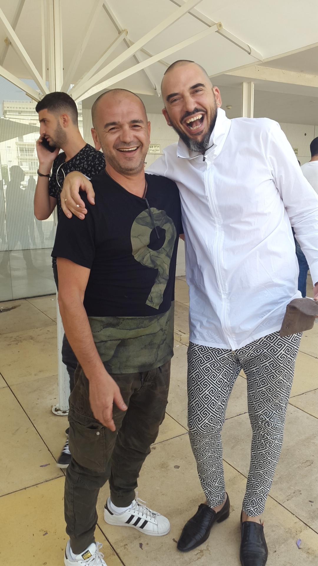 עמוס זרד ויגאל לובטון צילום הדליין