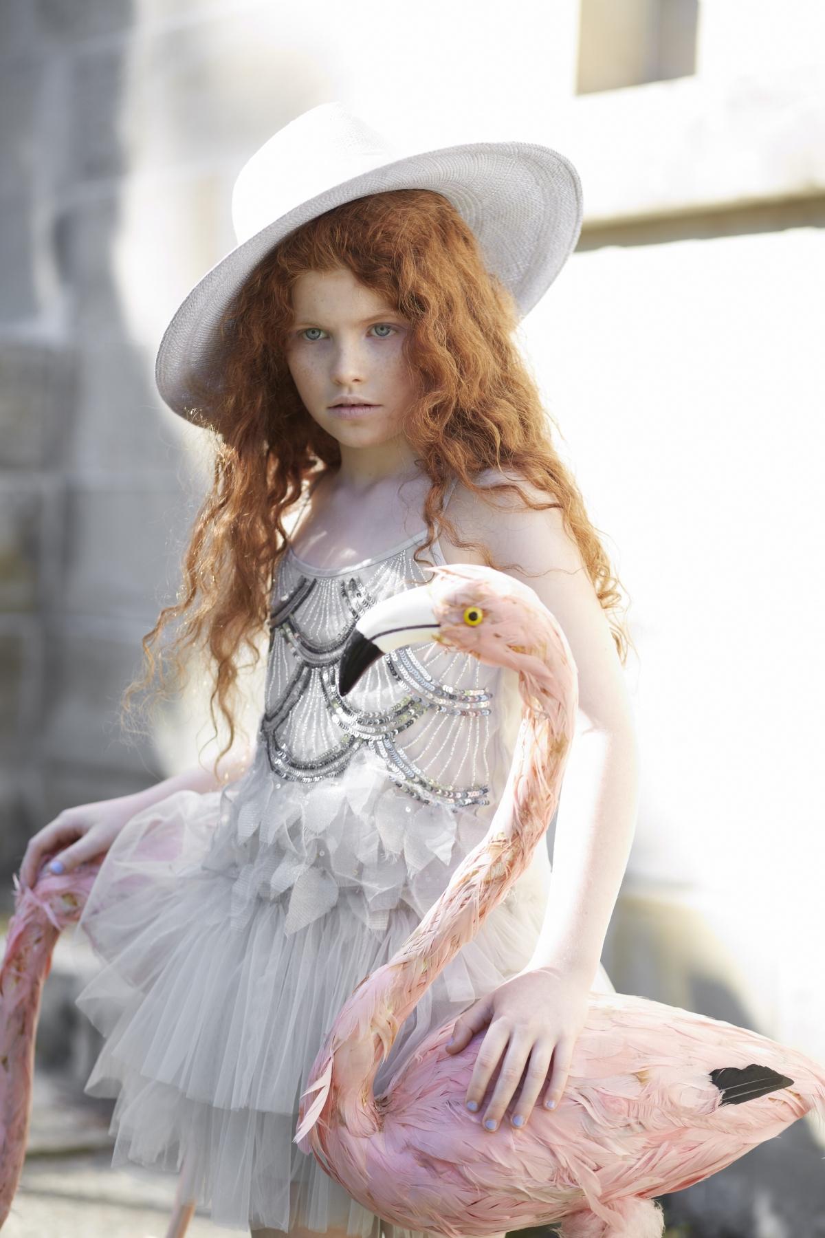 שמלת טוטו מדגם Shadow play מבית המותג Tutu De Monde, יחצ