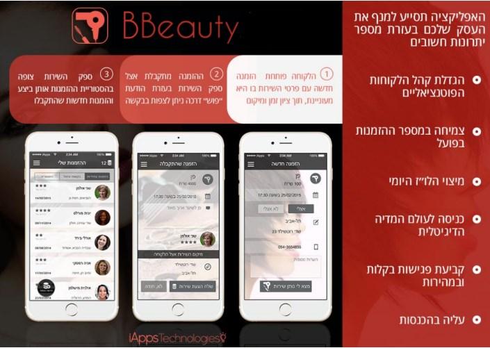 BBEAUTY האפליקציה שתמלא לך את היומן