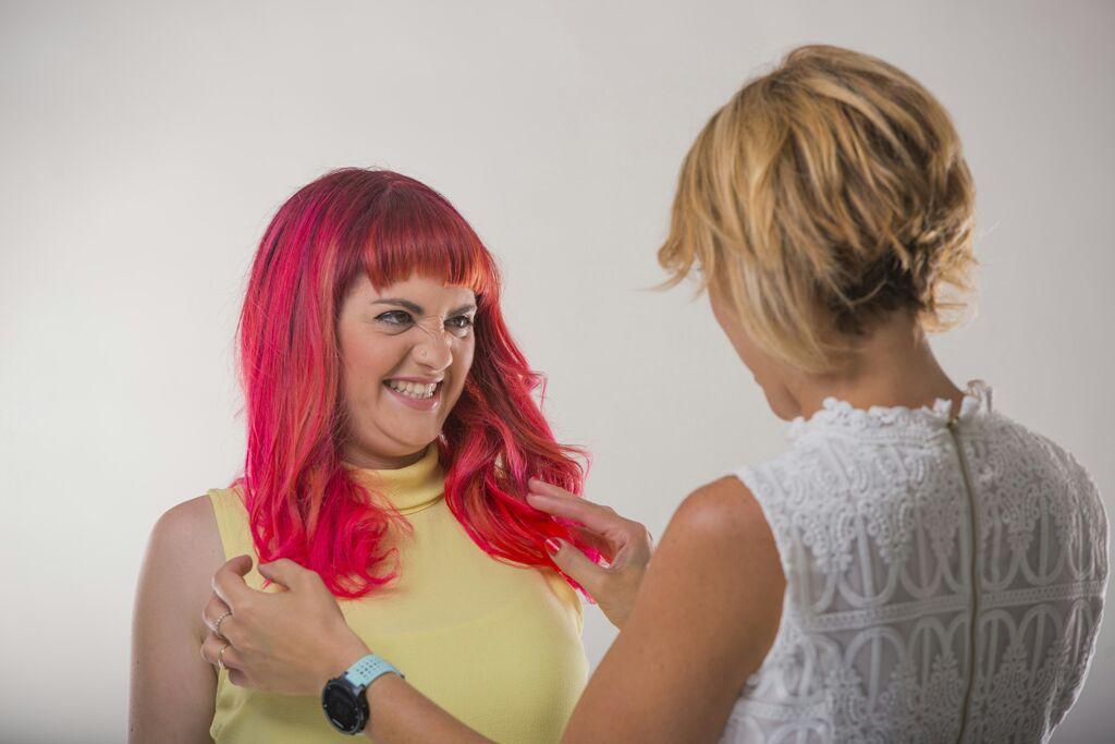 מעצבת השיער והמאפרת קרן בניסטי