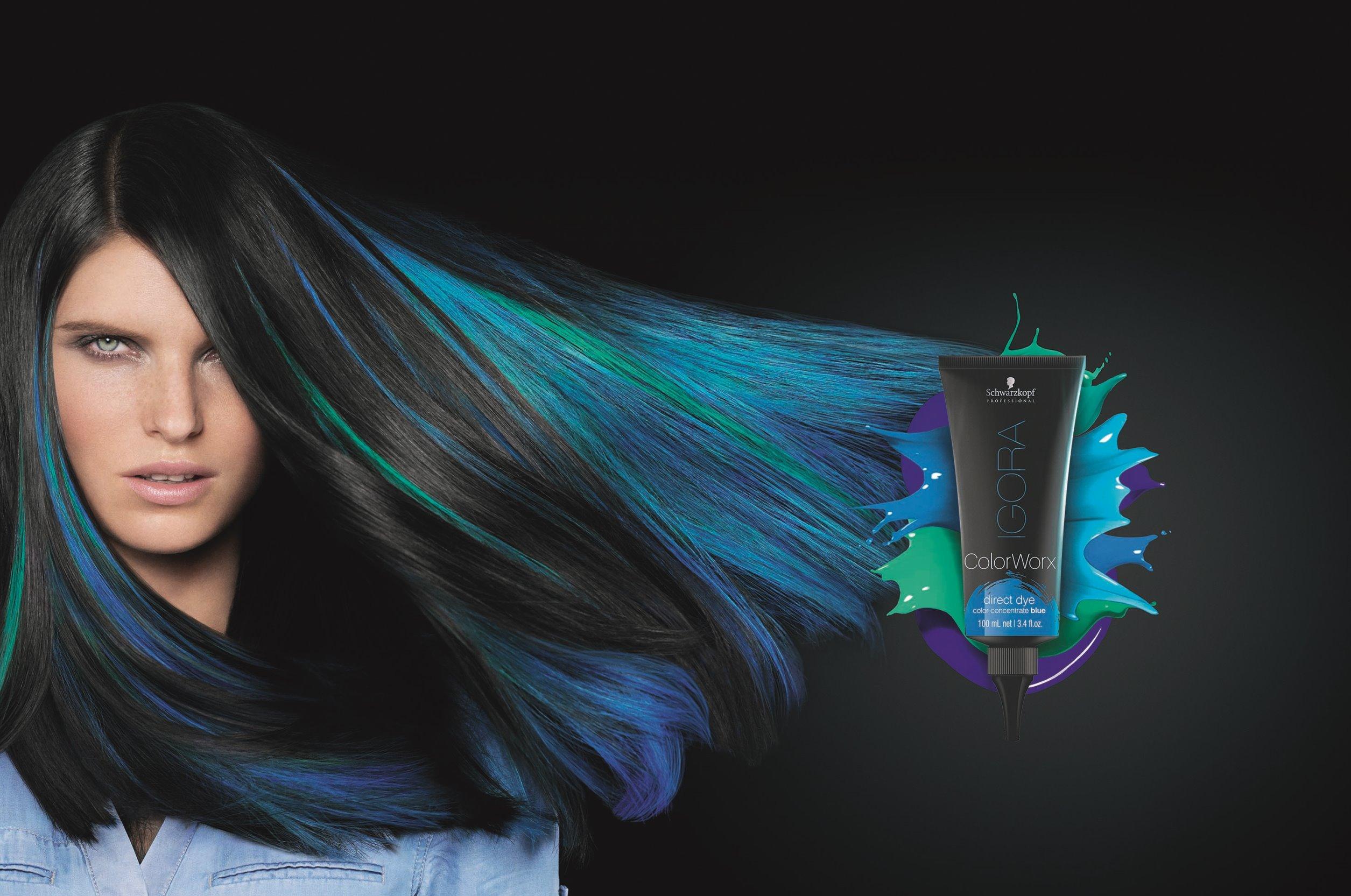 "IGORA ColorWorx  TradeAd blue צילום- שוורצקופף פרופשיונל חו""ל."