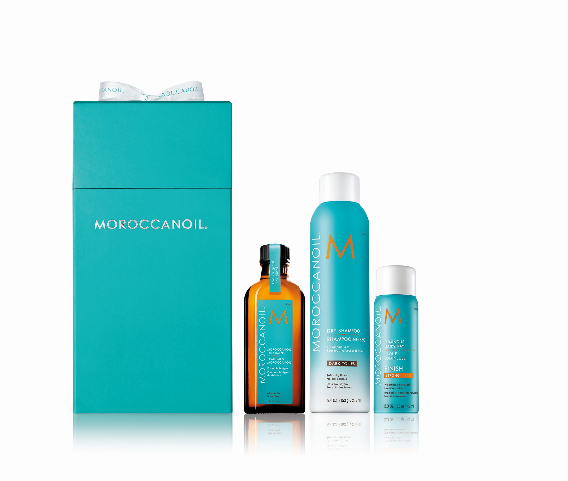Moroccanoil Cleanse and go dark ערכת חג 279שח צילום ריצ'ארד פאיירס