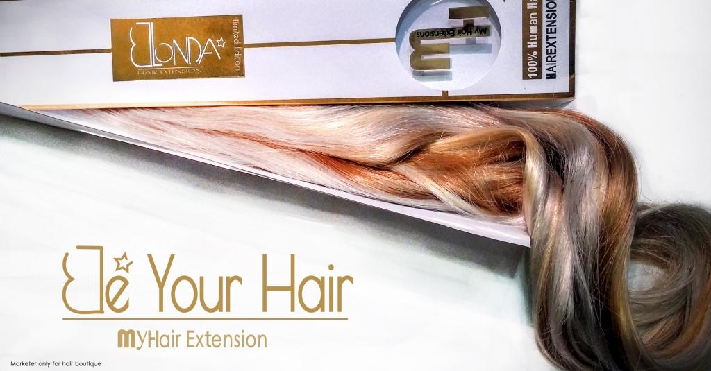 מותג תוספות השיער My  Hair משיק Private limited collection