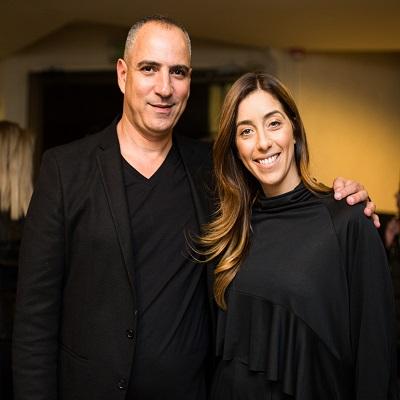 """מנכ""""ל החברה שלום שריקי ביחד עם אשתו ומארגנת האירוע רינת שריקי"""