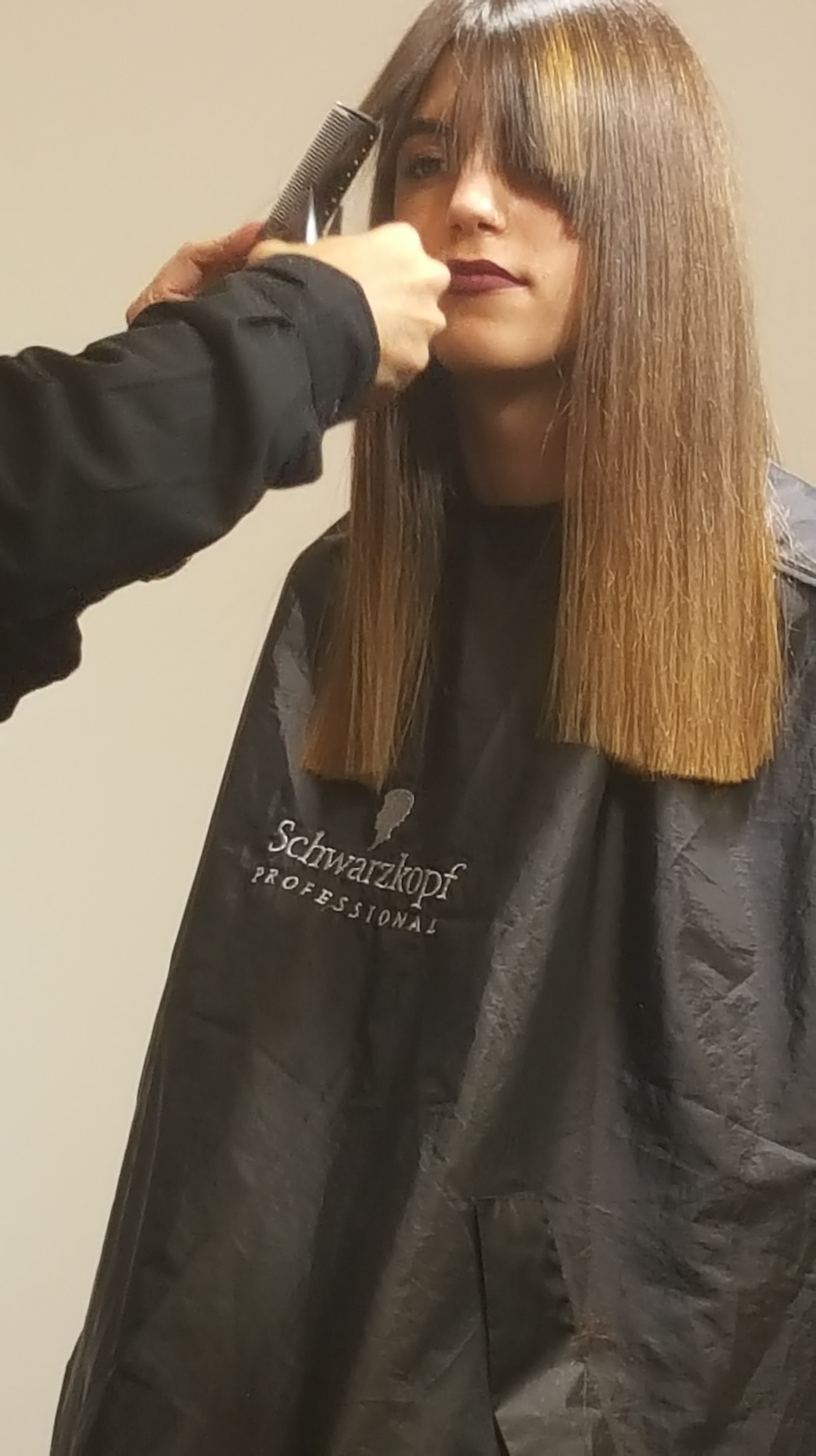 עידן בר מעביר סמינר למעצבי שיער מהרשות הפלסטינית באקדמיה של שוורצקופף פרופשיונל