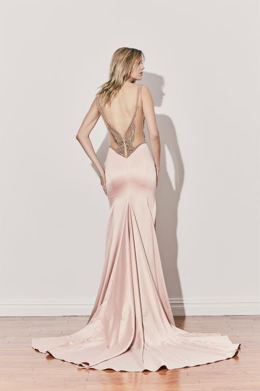 שמלת ערב של המעצב אלון ליבנה קיץ 2017 צילום יחצ חול (1)