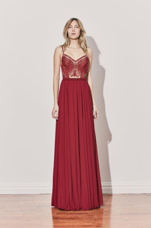 שמלת ערב של המעצב אלון ליבנה קיץ 2017 צילום יחצ חול (2)