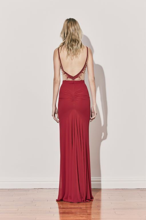 שמלת ערב של המעצב אלון ליבנה קיץ 2017 צילום יחצ חול (7)