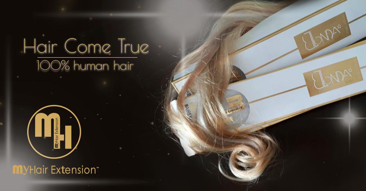 תוספות שיער של המותג MY HAIR EXTENSIONS™