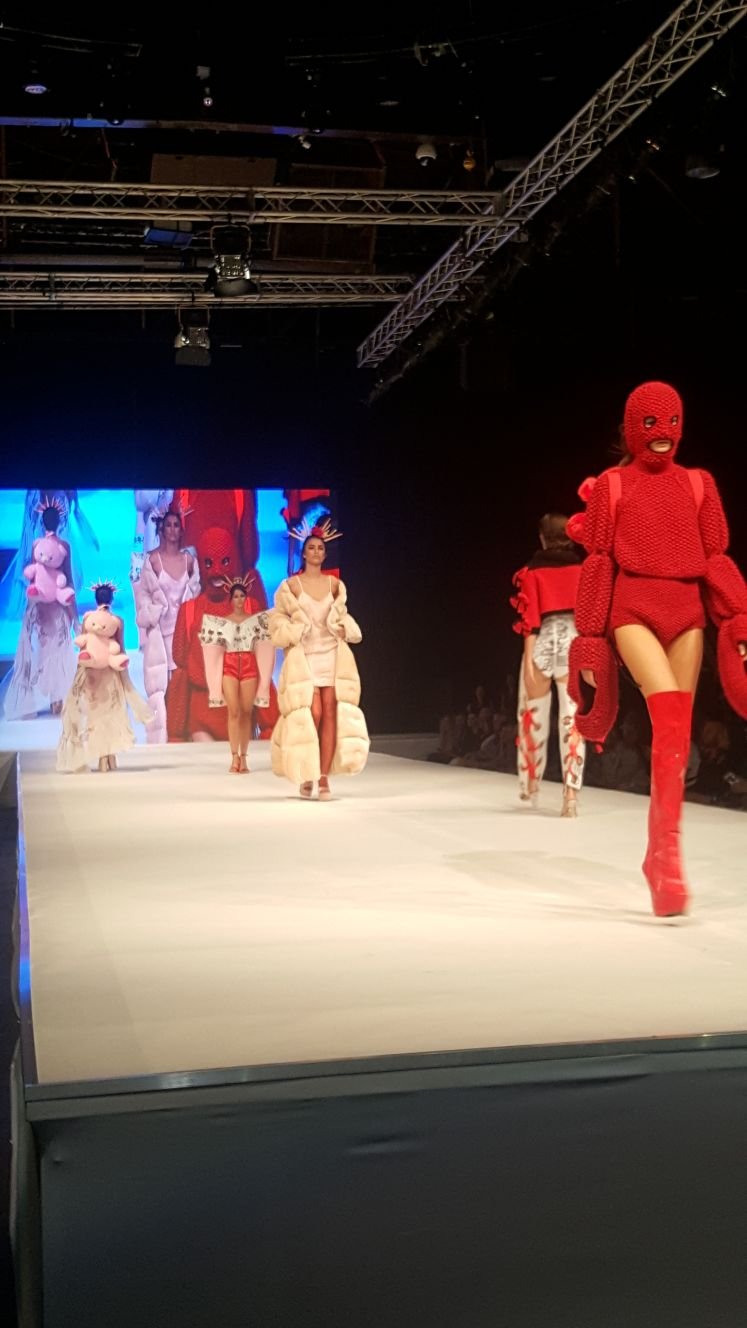 מראות השיער של עידן בר בתצוגת אופנה בוגרי ׳ויצו חיפה 2017