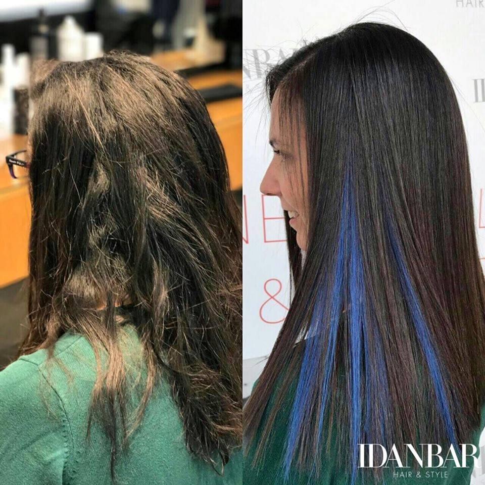 עידן בר החלקת שיער מקצועית במודיעין