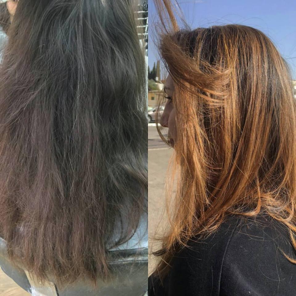 החלקת שיער מקצועית בנהריה רפאל אוסמו