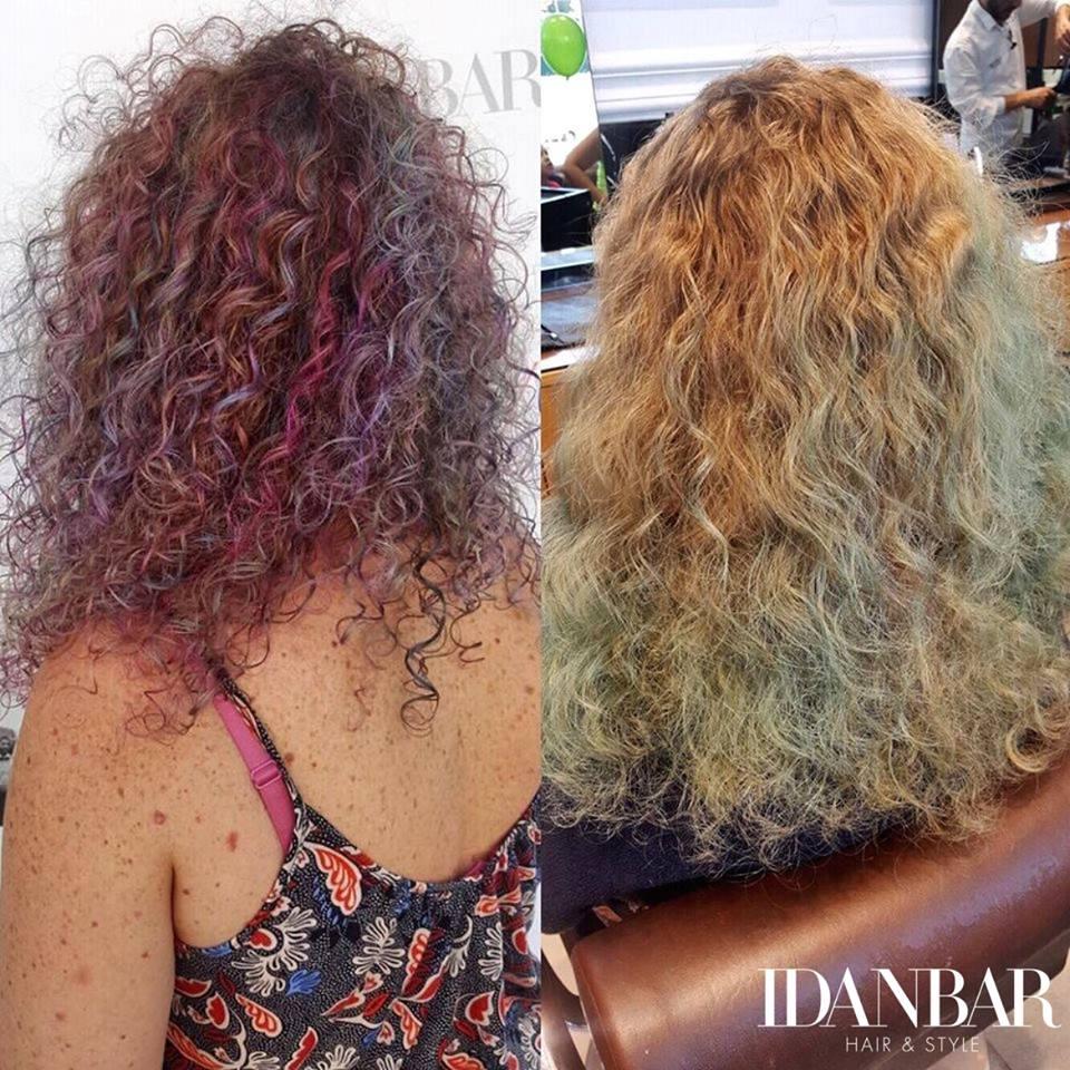 תספורת לשיער מתולתל במודיעין עידן בר