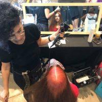 סיוון מדמוני, מעצבת שיער ומדריכה בחברת שוורצקופף פרופשיונל