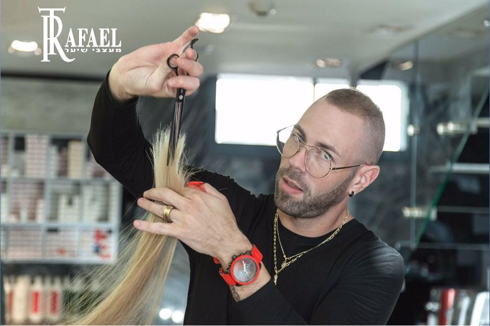 רפאל טפלוב, מעצב השיער היצירתי והטוטאלי ממודיעין, מדריך ושגריר שוורצקופף פרופשיונל