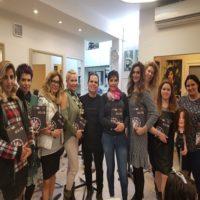 צוות רבקה זהבי wigs & hairfashion עם מעצב השיער חיים סיוון