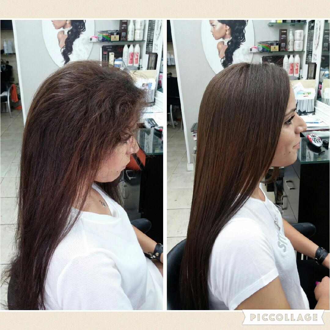 החלקת שיער מקצועית אירן אזולאי