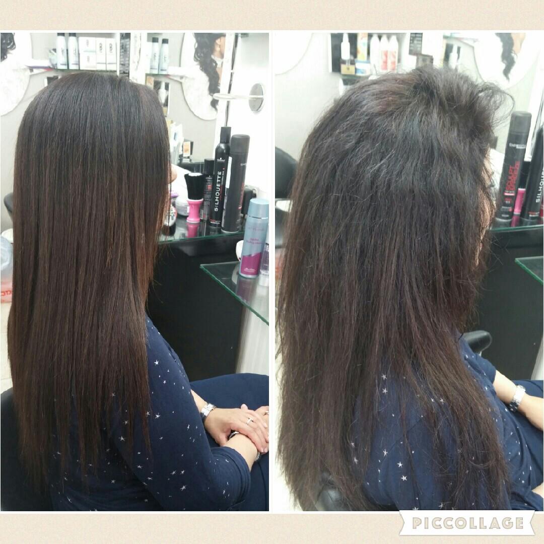 החלקת שיער מקצועית אירן אזולאי בחולון