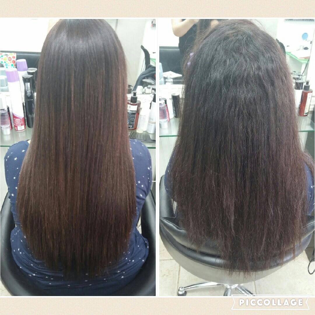 החלקת שיער יפנית אירן אזולאי