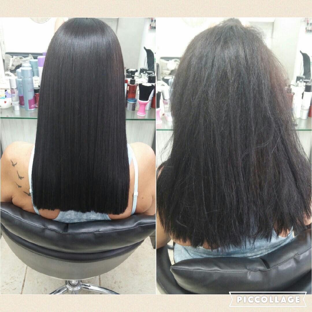 החלקת שיער אורגנית אירן אזולאי