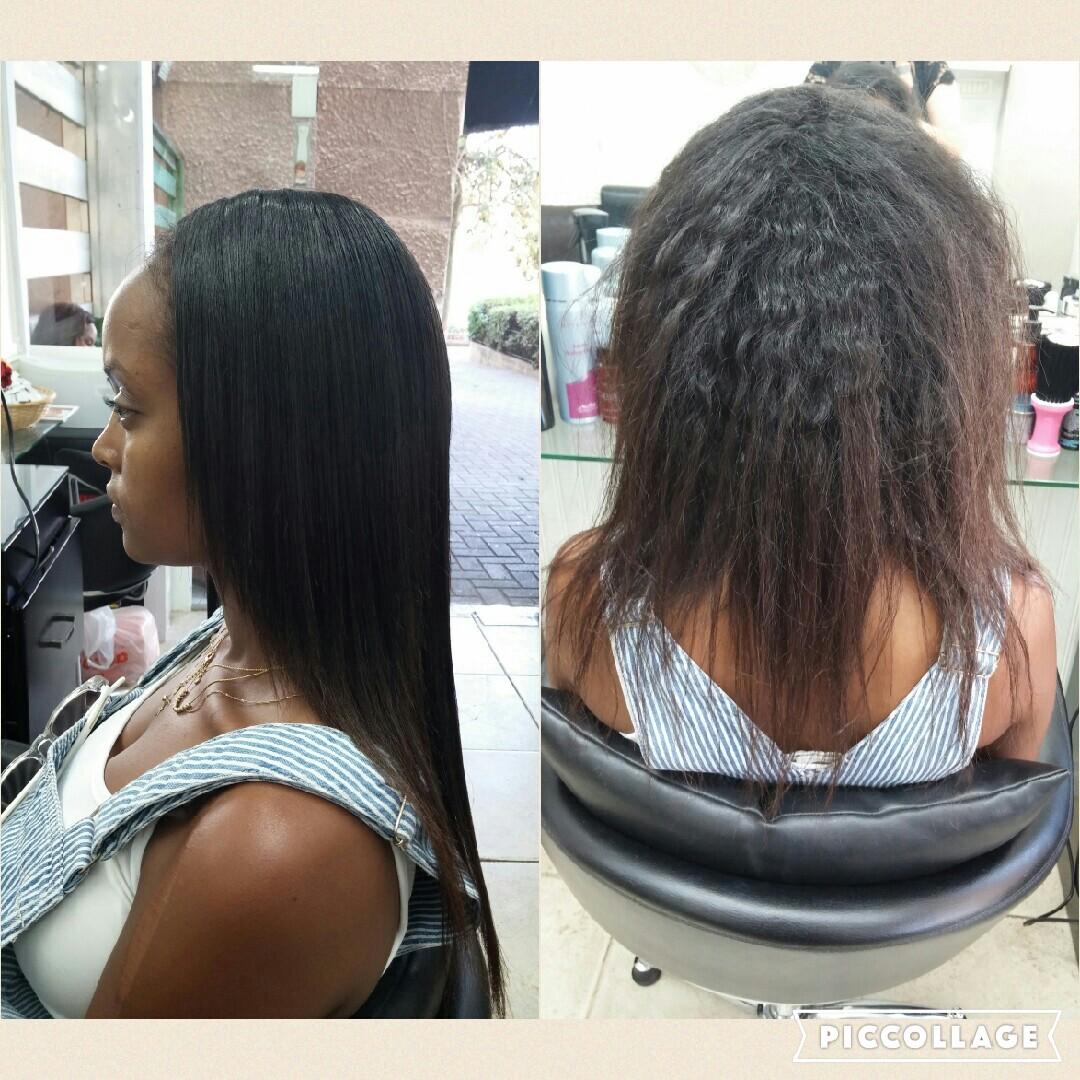 החלקת שיער מתולתל בחולון