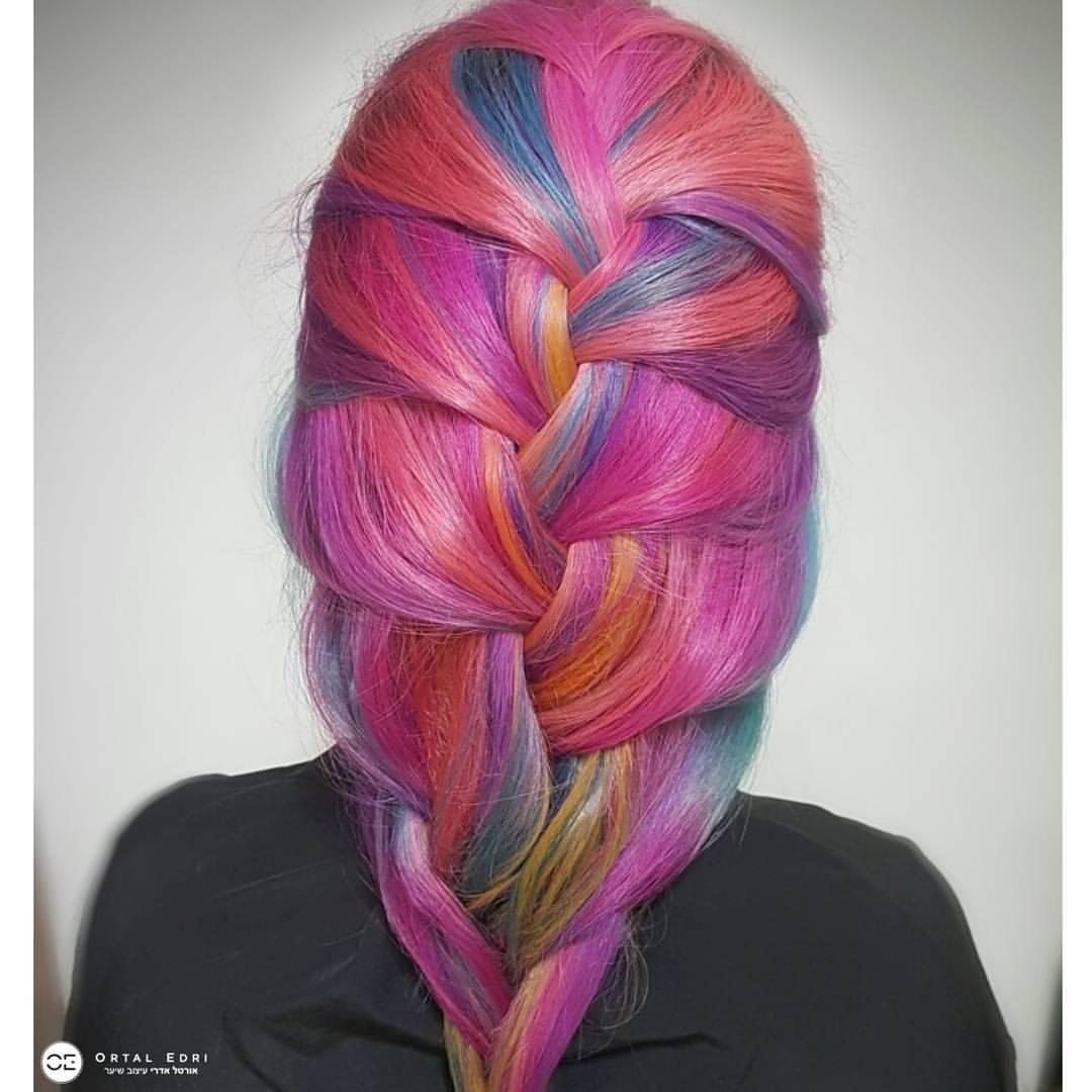 אורטל אדרי צבעי שיער פנטזיה