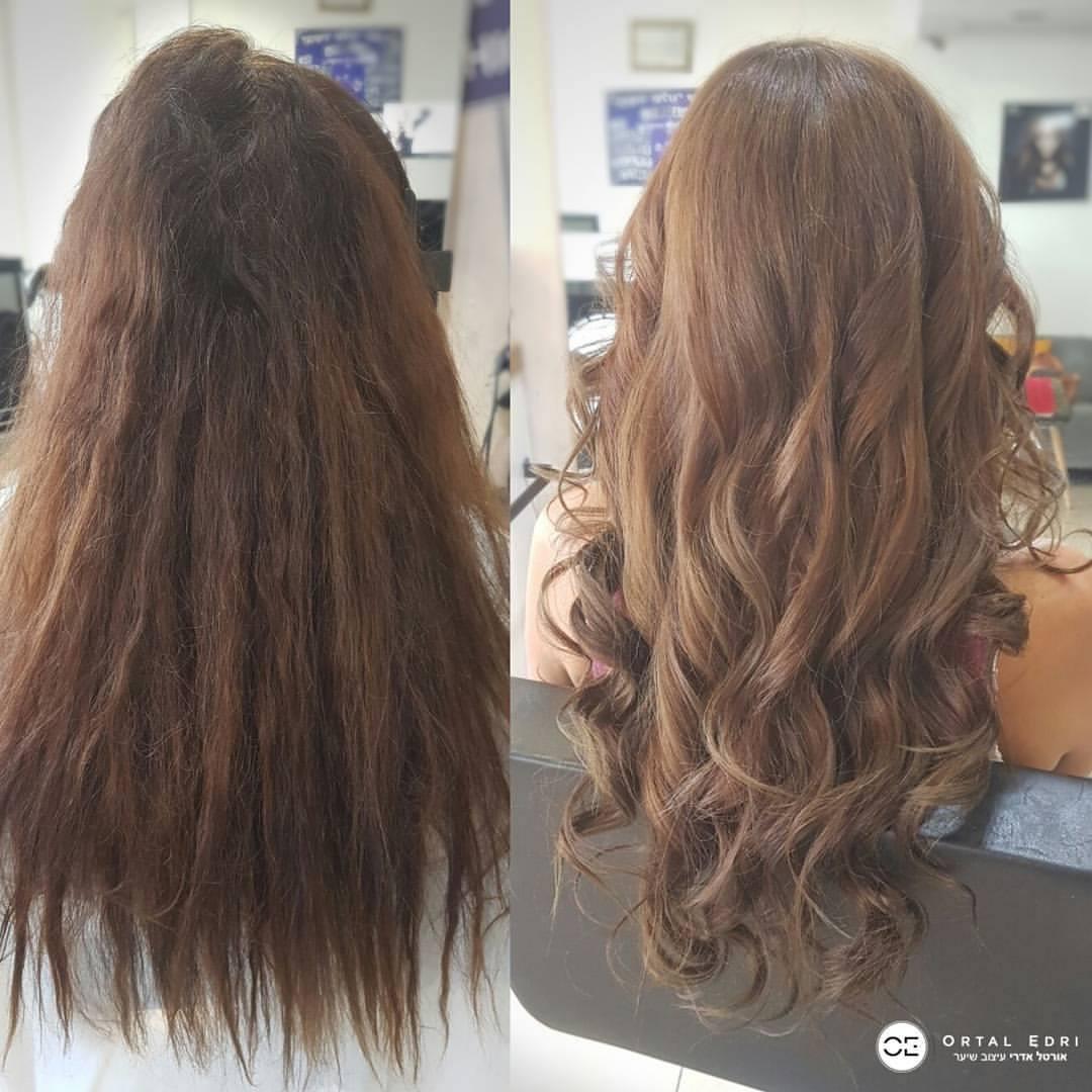 החלקת שיער יפנית בעפולה אורטל אדרי