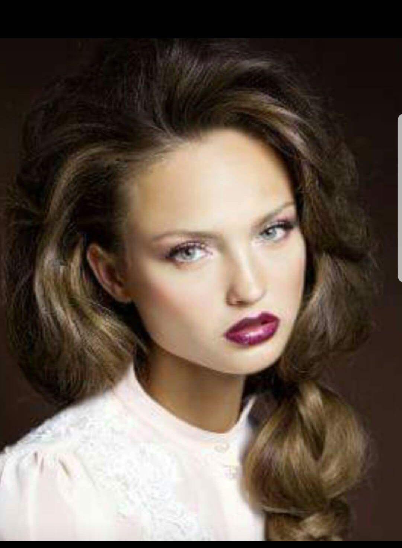 איפור ערב שפתיים סגולות סוניה סאפדל
