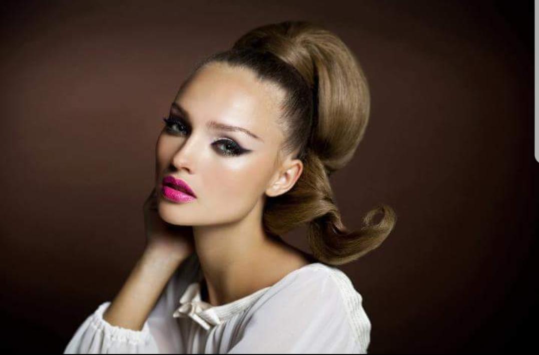 איפור ערב שפתיים ורודות נועזות סוניה סאפדל
