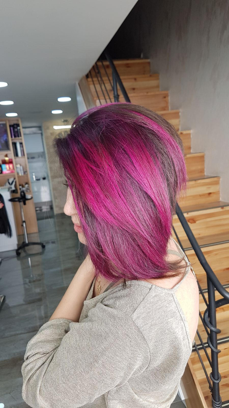 צבעי שיער פנטזיה קרית אתא נטלי לוסק