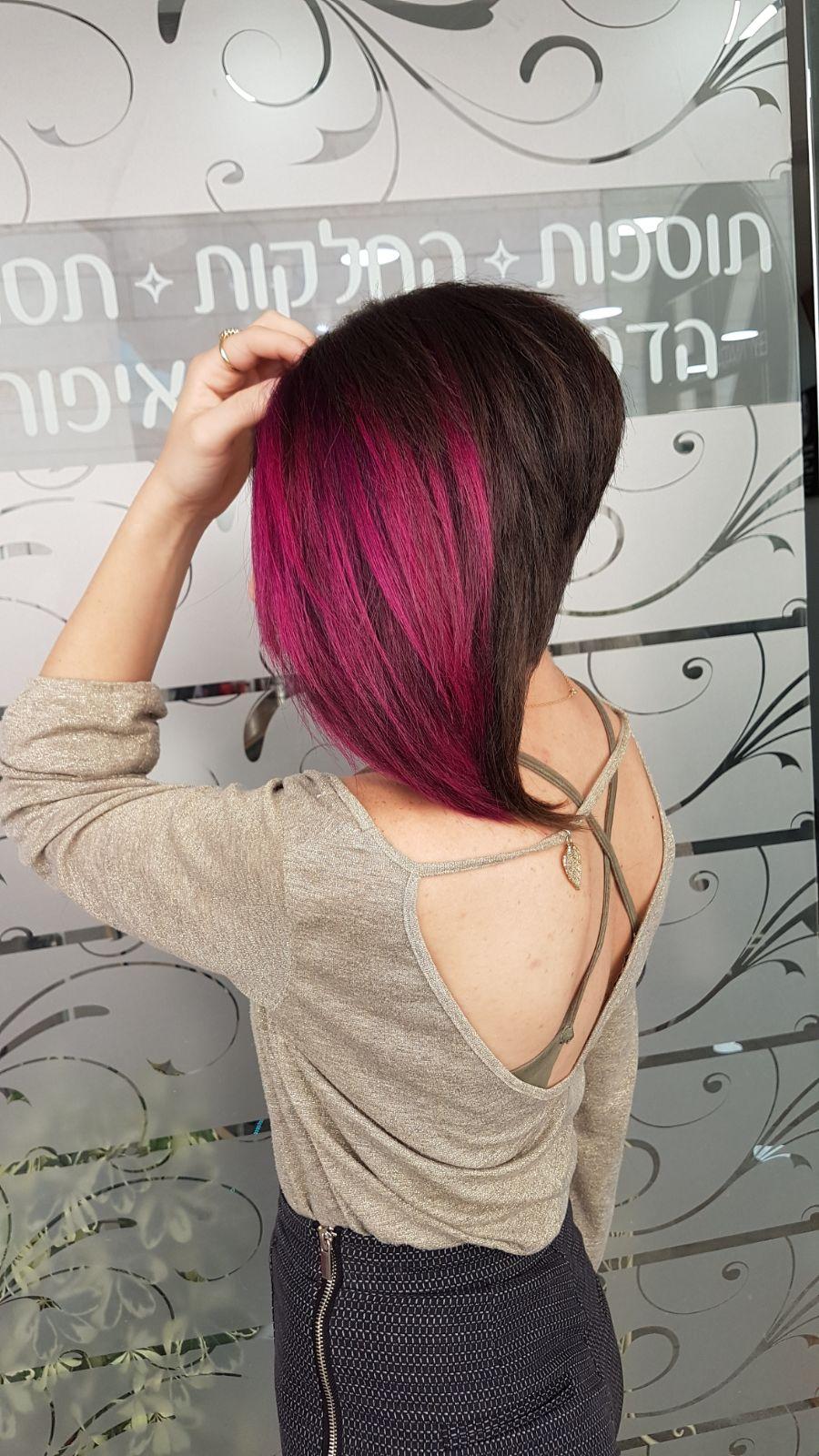 צבעי שיער מיוחדים נטלי לוסק