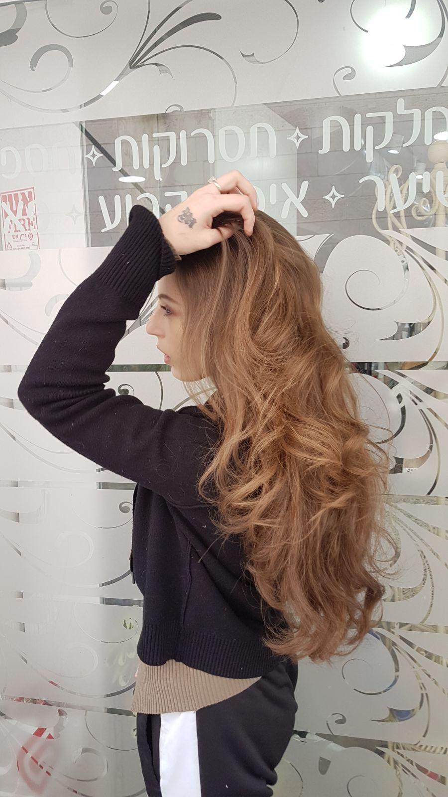 צבעי שיער טבעיים נטלי לוסק