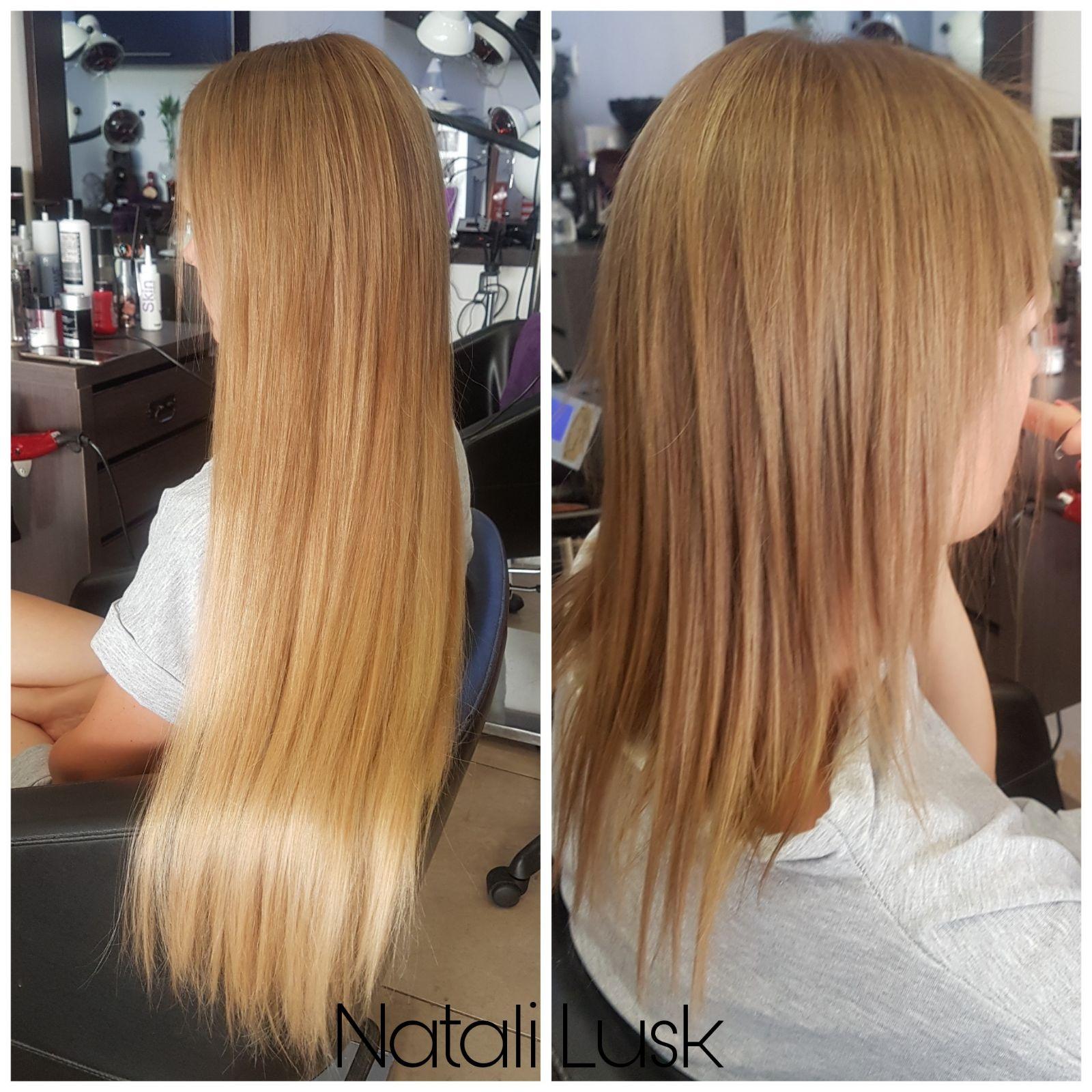 תוספות שיער אירופאיות נטלי לוסק