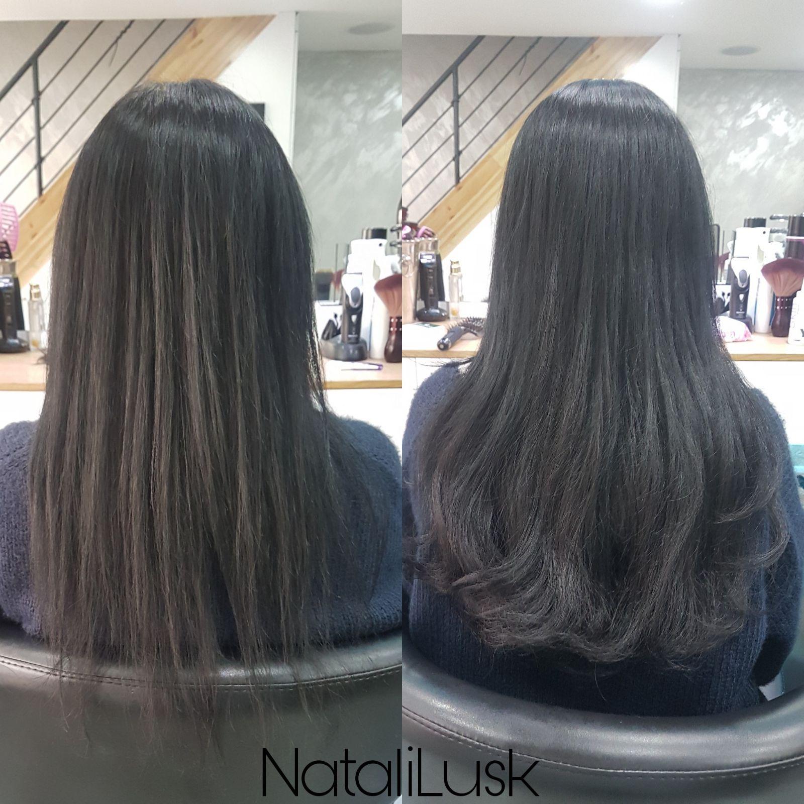 תוספות שיער איכותיות נטלי לוסק