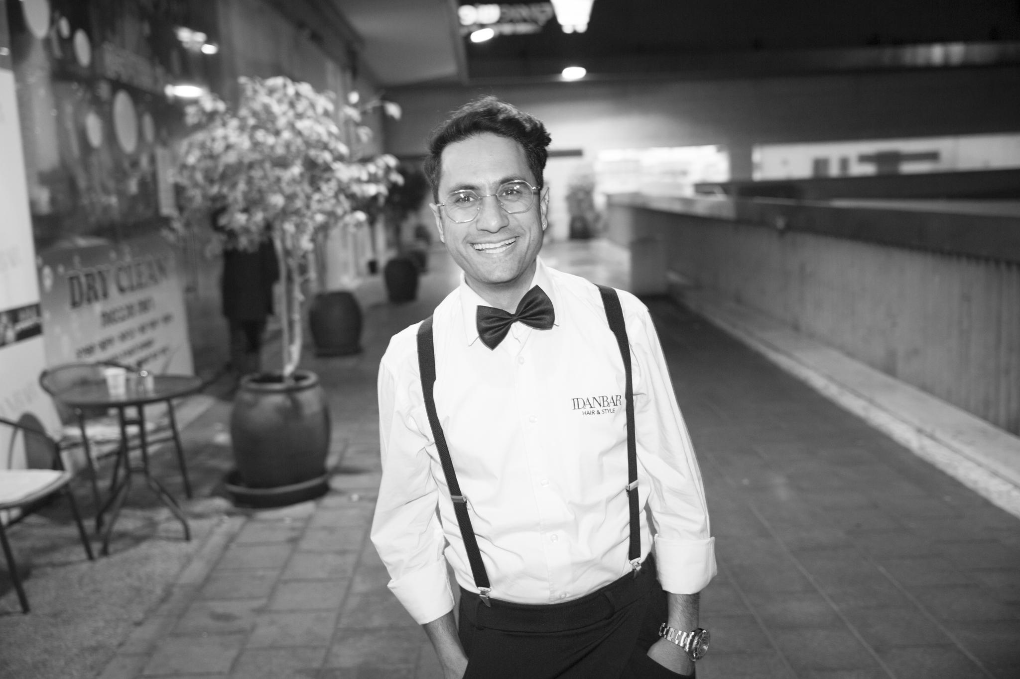 מעצב השיער עידן בר מונה לשגריר  שוורצקופף פרופשיונל בישראל. צילום- DVISION