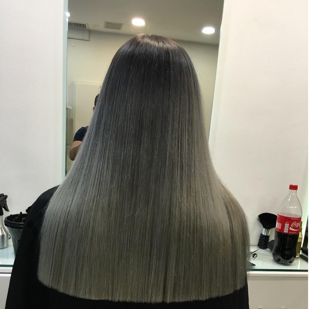 שיער צבע אפור - לידור שירי