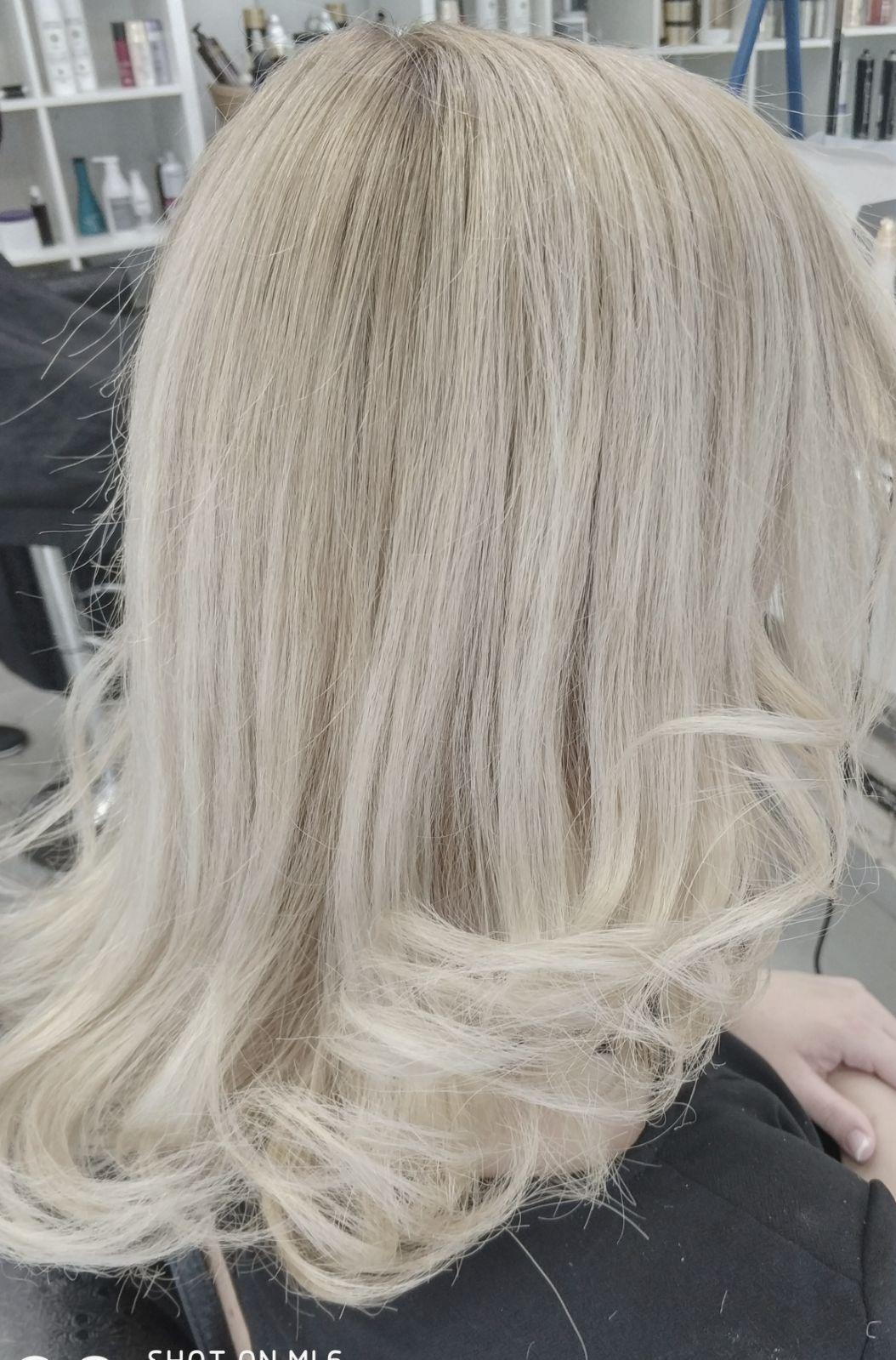 צבע שיער טבעי אצל ברק נחאייסי