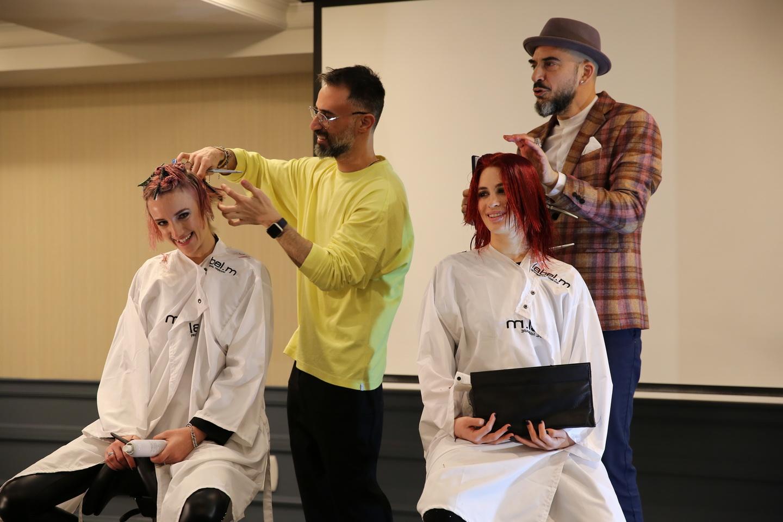 צילום - עזרא לוי מעצבי השיער יגאל לובטון וניסים פרץ