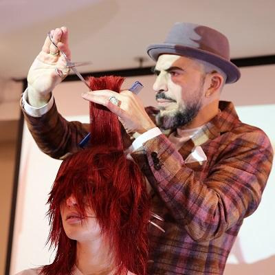 צילום - עזרא לוי מעצב השיער יגאל לובטון