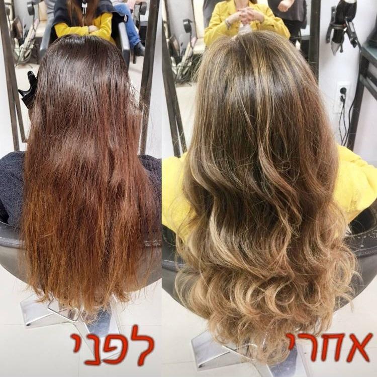 עיצוב שיער מקצועי בקרית גת לורן עיצוב שיער