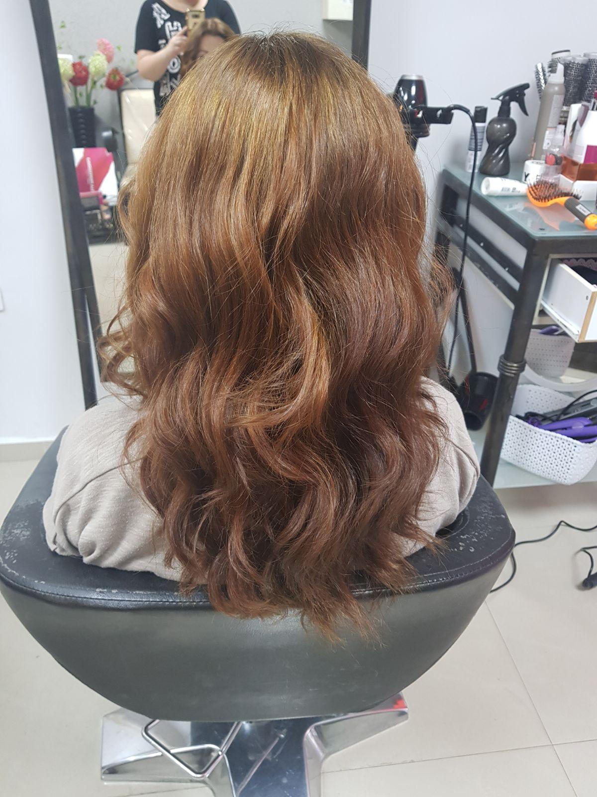 לורן עיצוב שיער גוונים בקרית גת